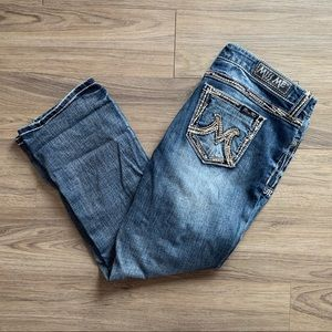 Miss Me Capri Jeans Size 32